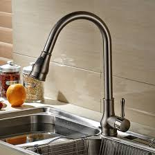 faucet sink kitchen led pull out spray kitchen sink faucet double spout kitchen sink