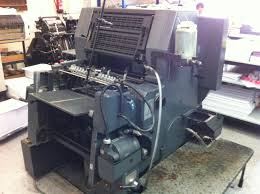 heidelberg gto 52 single color single selm