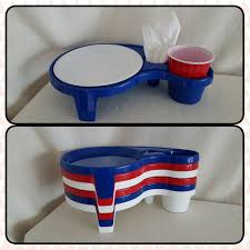 find more ultray set of 6 picnic buffet serving tray caddy drink