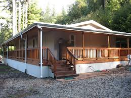 mobile homes with wrap around porch