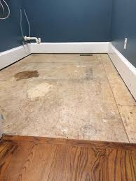 Laminate Flooring In Laundry Room Finally A Floor Part 1 Bower Power