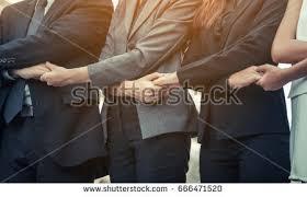 business meet on office desk stock photo 521598709