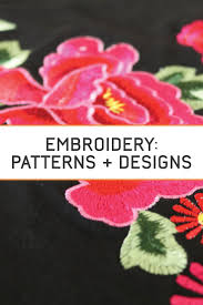 61 best embroidery patterns u0026 designs images on pinterest