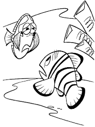finding nemo coloring pages download print finding nemo