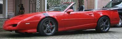 corvette sawblade wheels firebirds with corvette wheels third generation f message