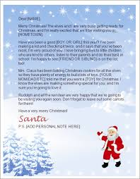 letter from santa template word letters from santa north pole