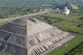 Teotihuacan Mexico Map by Guadalupe Shrine U0026 Teotihuacan Pyramids