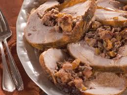 stuffed turkeys rolled turkey breast with nutty fruit recipe nancy