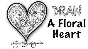 floral heart a dangerous doodle by miraculous mosquito youtube