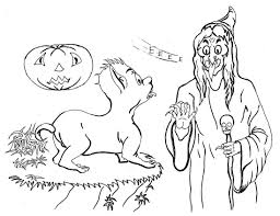 halloween coloring pages monster coloring pages
