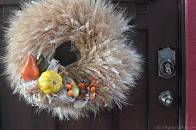 cornucopia decorations wow guests with these easy diy thanksgiving door decorations a