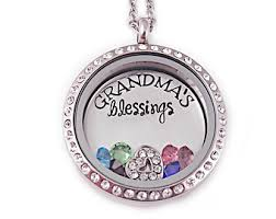 birthstone necklace for grandmother necklace with charms inside locket personalized s