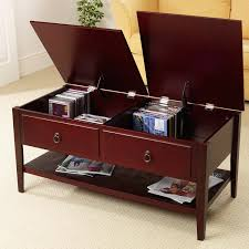 Cherry Wood Coffee Table Interior Coffee Table Storage Coffee Table With Storage Unique