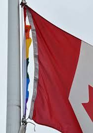 Outside Flag Pride Flag Cut Down At Lillian Osborne High Edmonton Journal