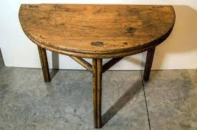 antique half moon table half moon table for sale half moon tables for sale moon dining