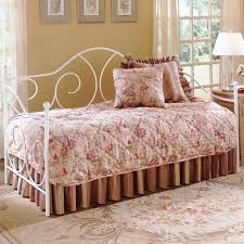 caroline iron daybed with soft curving design