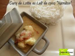 cuisiner la lotte marmiton curry de lotte au lait de coco marmiton food in ze city