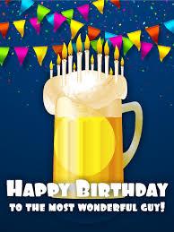 to the most wonderful guy happy birthday card birthday