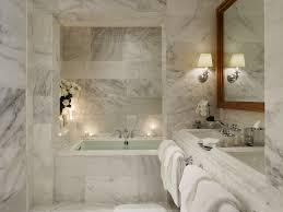 bathroom luxury bathroom design with white freestanding bathtub
