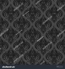 gray antique seamless wallpaper background design stock vector