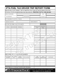 Ifta Spreadsheet Trip Report Template Forms Fillable Printable Sles For Pdf