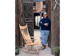 Rocking Chair Drawing Plan Famous For His Rocking Chair Sam Maloof Made Furniture That Had