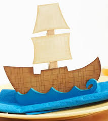mayflower ship thanksgiving crafts made from paper popsugar