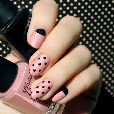 61 simple polka dot nail art designs for beginners and simplicity