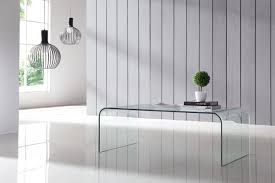 curved glass tables buy contemporary curved glass tables from