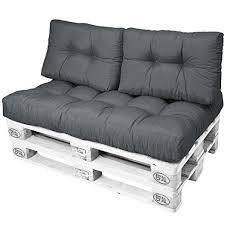assise canapé beautissu eco style coussins pour canape palette assise
