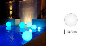 battery operated floating pool lights rechargeable battery operated floating waterproof illuminated rgb