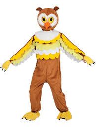 adults owl full body mascot charity sports events fancy dress