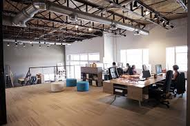 featured story scout branding loft office open floor and