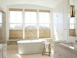 Small Bathroom Window Curtains by Home Decor Bathroom Window Treatments Ideas Ceiling Mounted