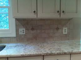 Kitchens With Subway Tile Backsplash Subway Tile Backsplash Kitchen With Caesar Stone Countertop