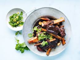 balsamic short ribs recipe epicurious com