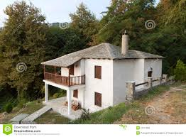 Traditional House Greek Traditional House At Pelion Greece Stock Photography