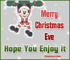 merry christmas eve hope enjoy mickey mouse glitter