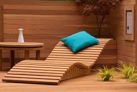 Wooden Sun Loungers Contemporary Outdoor Furniture Design Ideas - Designer outdoor chair