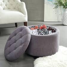 Animal Print Ottomans Storage Blueuf Ottoman Grey Knit Upholstered Coffee Table Animal