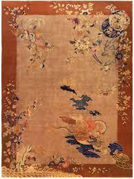 Rug Art Vintage Chinese Decorative Area Rug Art Deco Rugs Floral Motif