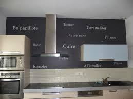 cuisine sur un pan de mur trompe l oeil décors murs coquelisonge
