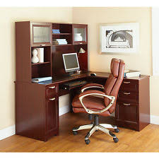 Executive Desk With Hutch U Shaped Office Executive Desk With Hutch Cherry L Shape Delivery