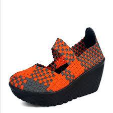 Comfortable Wedge Pumps Aliexpress Com Buy New Dance Sport Wedge Shoes Women Comfortable