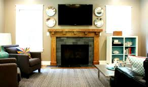 Simple Livingroom Fair 70 Living Room Decorating Ideas With Tv And Fireplace Design