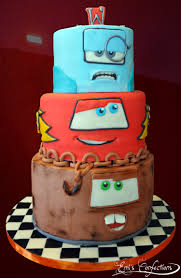 Dragon Ball Z Cake Decorations by Cars Movie Cake Cars 2 Cake Mater Cake Tow Mater Cake Towmater