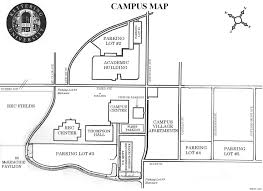 University Of Michigan Parking Map by Kettering University Campus Map 1700 W Third Avenue Flint