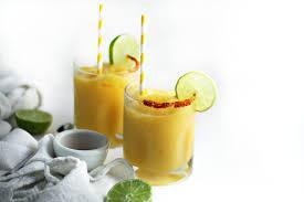mango margarita frozen mango margarita with chili salt rim