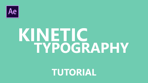 tutorial kinetic typography after effects how to make kinetic typography intro in after effects youtube