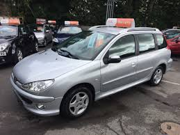 peugeot silver used peugeot 206 and second hand peugeot 206 in halifax